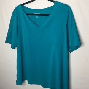 💎Lane Bryant  Teal T-shirt | 18/20